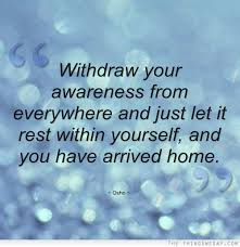 awareness quote